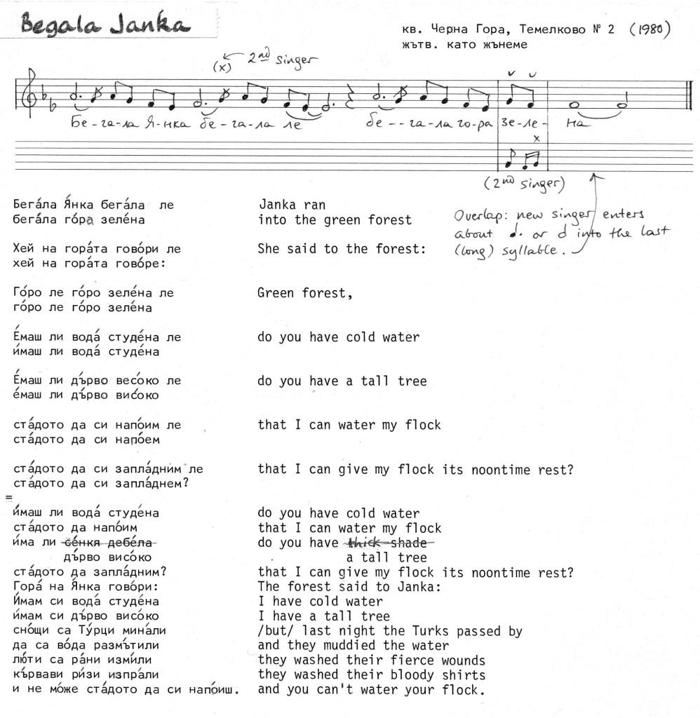 T- Ch.Gora '80-2 Begala Janka